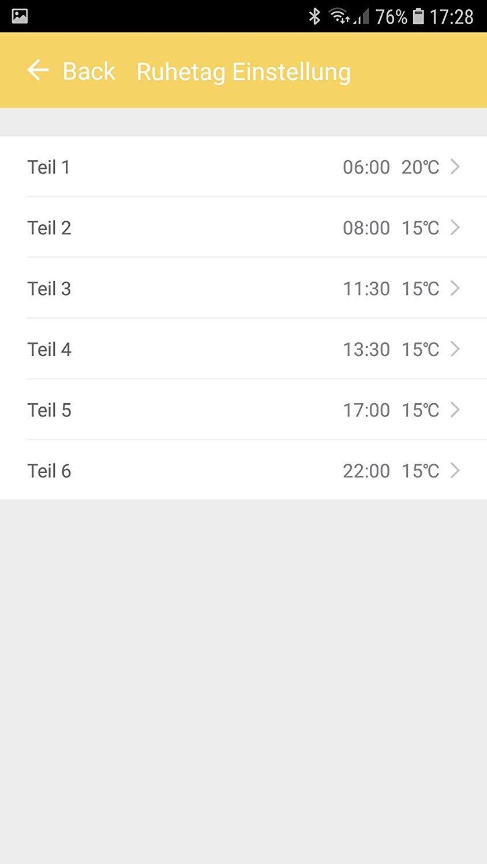 Thermostat und App mit Smart Home L/ösung Temperatur und Programmierung /über Handy app steuerbar ✓GS T/üv 130 Watt K/önighaus Fern Infrarotheizung