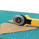 45mm Ergonomic Rotary Cutter, 5 Pack Rolling