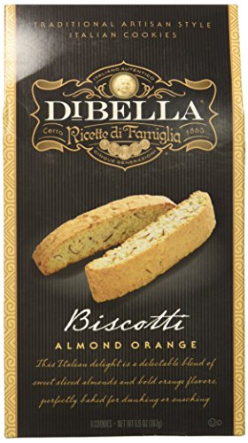 - DiBella Baking Company Biscotti, Almond Orange