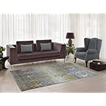 "Alfalfa Gold Area Rug Contemporary Living Room & Bedroom Soft Stain Resistant Rug (2'7"" x 9'10"")"
