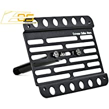 EOS Version 1 Mid Sized Front Bumper Tow Hook License Plate Relocator Mount Bracket For 11-13 Volvo C30 2011 2012 2013 11 12 13