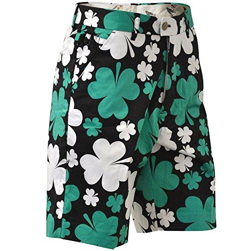 Royal & Awesome Paddy Par! Irish Mens Golf Shorts (John Daly Golf Pants)