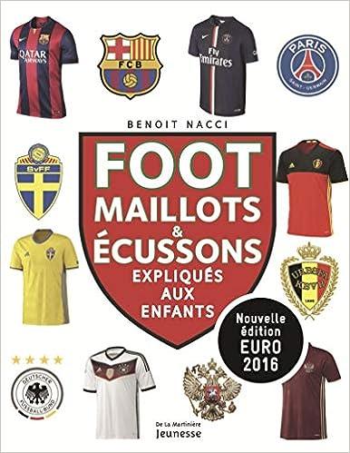 Foot : Maillots et blasons expliques aux enfants