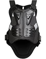 WOSAWE Sports Body Armor Jacket Motorcycle Racing Chest Back Protector