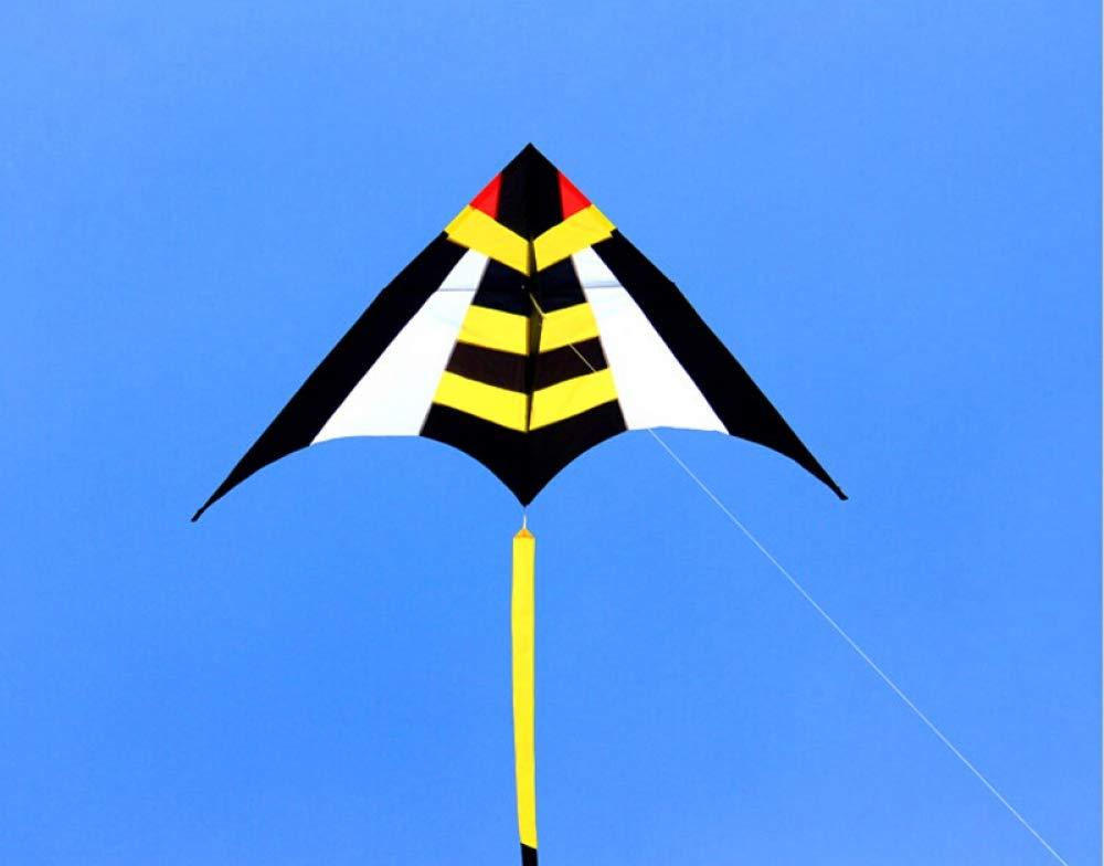 WANGCHAOLI Kite Large Delta Kite Flying wasp Ripstop Nylon Kite Reel Parachute cerf Volant pipa voadora vlieger Eagle by WANGCHAOLI