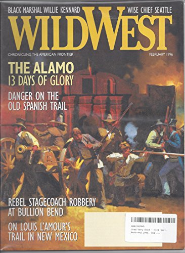 Wild Magazine West (Wild West. February 1996. Vol 8, No 5.)