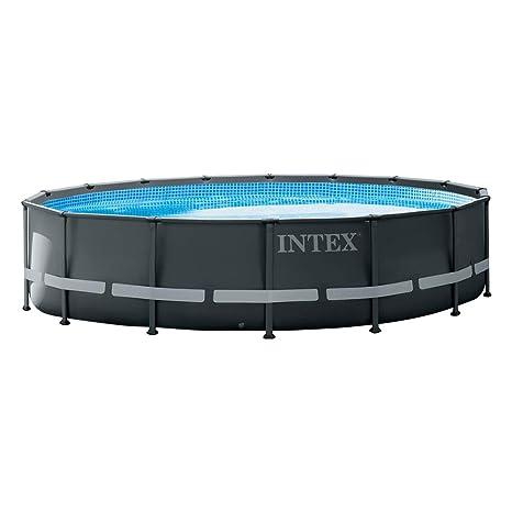 Intex 26326NP - Piscina elevada redonda Ultra XTR Frame 488 x 122 cm con depuradora