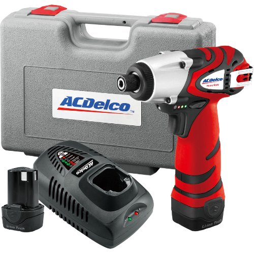 ACDelco ARI1265 Li-ion 12V Impact Driver (1265 in-lbs), 2 battery included by ACDelco Tools