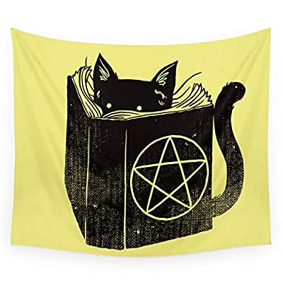 Society6 Witchcraft Cat Wall Tapestry
