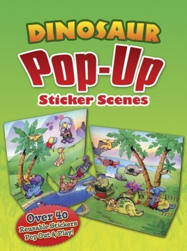 Download Dinosaur Pop-Up Sticker Scenes (Dover Children's Activity Books) PDF