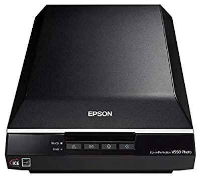 Epson Perfection V550 Color Photo, Image, Film, Negative & Document Scanner with 6400 dpi (B11B210201)