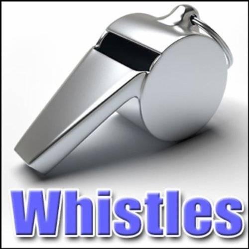 Whistle, Scout - English Scout Tube Whistle: Several, Whistles, Comic Noisemakers, Authentic Sound Effects ()