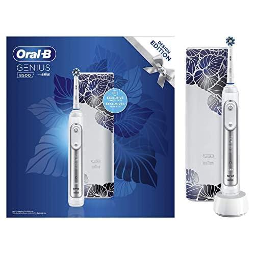 chollos oferta descuentos barato Braun Oral B Genius 8500 Cepillo de dientes eléctrico color plateado