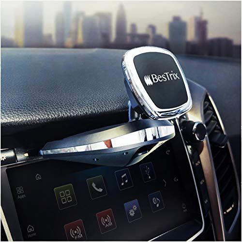 - Bestrix Universal CD Slot Magnetic Phone Holder for Car Compatible with All Smartphone up to 6.5