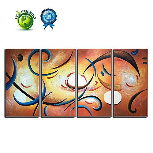 100  Hand Painted Oil Painting On Canvas  Abstract Wall Art Contemporary Artwork For Living Room Bedroom Home Decor Framed Ready To Hang Art