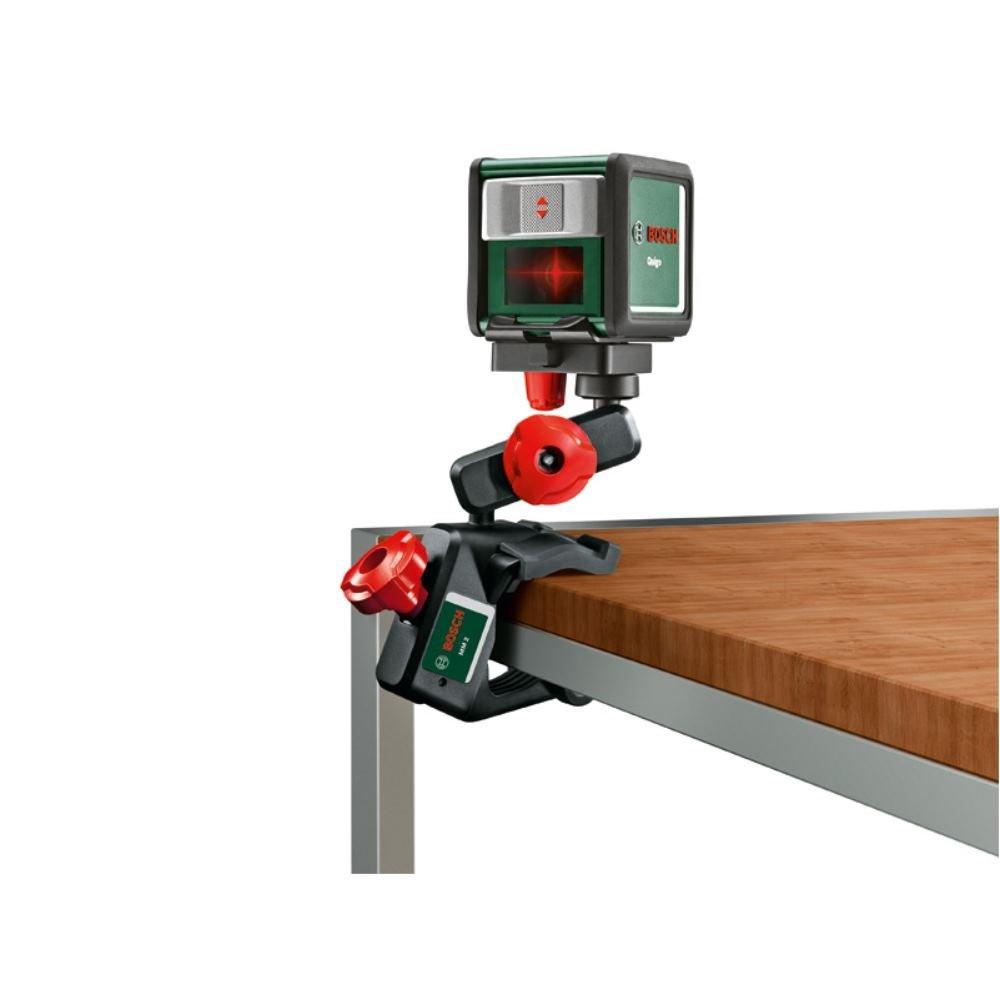 Bosch 0603692201 Support pince pour niveau laser MM 2 (convient à des objets de diamètre 2–5cm, hauteur de travail flexible 45–110mm, carton) hauteur de travail flexible 45-110mm