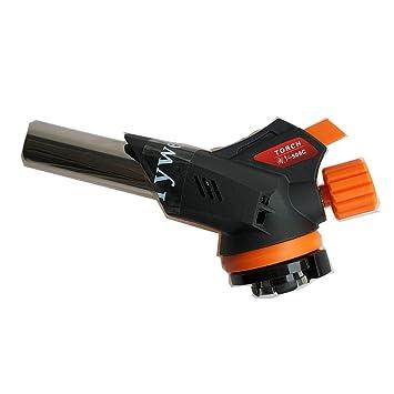 Soplete de butano, soplete antorcha de gas Soplete soplete, mini soplete de soldador (509C): Amazon.es: Bricolaje y herramientas