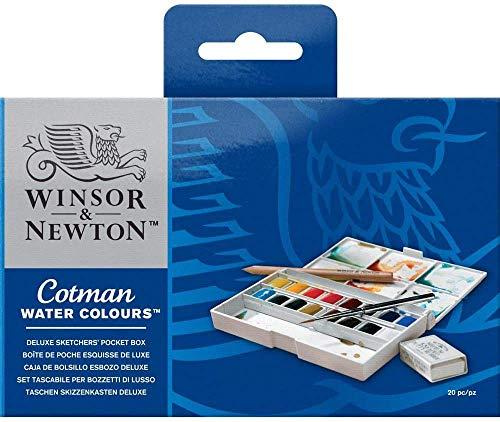 Winsor & Newton Cotman Watercolor Paint, Half