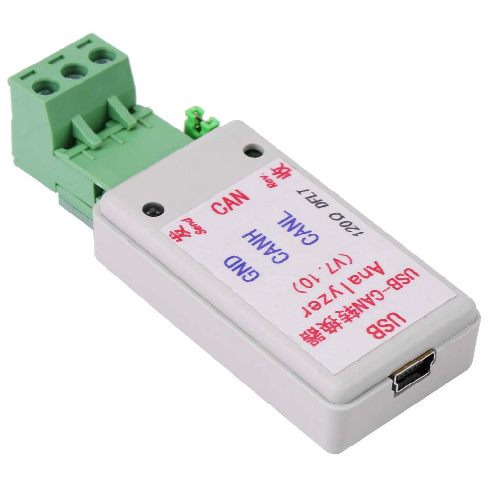 with USB Cable for CAN2.0A and CAN2.0B Hub Multi-Port Converter Adapter USB-CAN Bus Converter