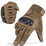 Fuyuanda Tactical Gloves Full Finger Touch Screen GLoves Shooting Cycling Motorcycle Hunting Armor Racing Paintball Glove