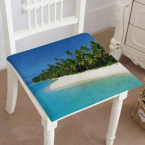 Mikihome Chair Seat Pads Cushions Beach in one Foot, used for sale  Delivered anywhere in Canada