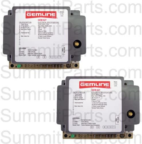 2PK - GEM-627 IGNITOR 24V - REPLACES 880815, 882627, 880875, 128937, DS3-A 51-1g4DpnML
