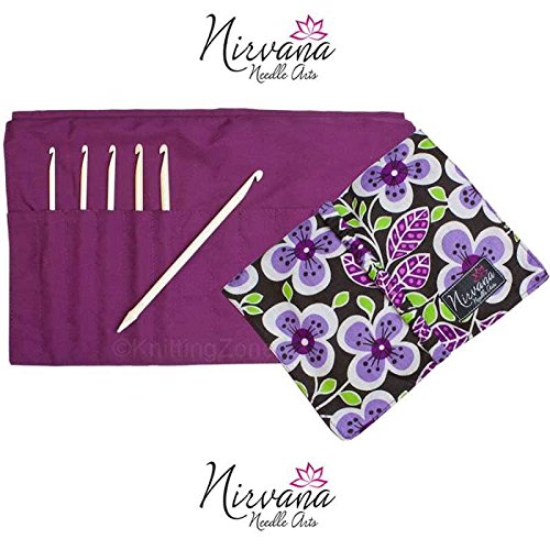 HiyaHiya Nirvana Bone Crochet Hooks Gift Set F-J US 3.75-6.0 mm by HiyaHiya