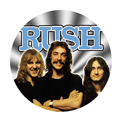 Rush - Old Photo - Pinback Button 1.25