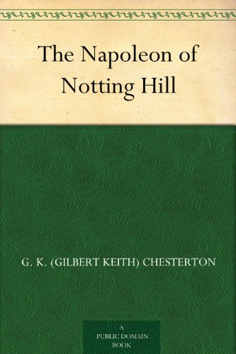 #freebooks – The Napoleon of Notting Hill
