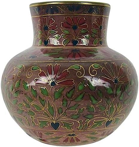 Zsolnay Antique Pecs Cloisonne Style Cabinet Vase