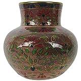 Antique Zsolnay Pecs Cloisonne Style Cabinet Vase, circa 1878