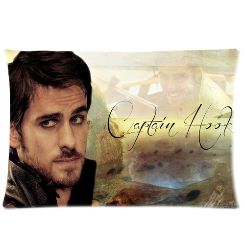 Generic Custom Captain Hook Once Upon A Time 20*30 Rectangle Pillowcase ID-05