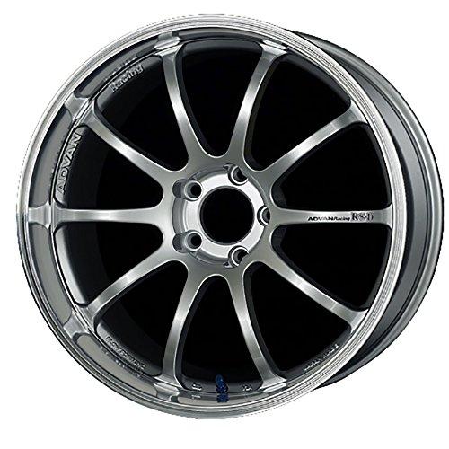 (Yokohama Wheel Advan RS-D Silver Wheel with Painted Finish (19x10