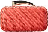 Vince Camuto Horn Clutch,Spicy Orange,One Size, Bags Central