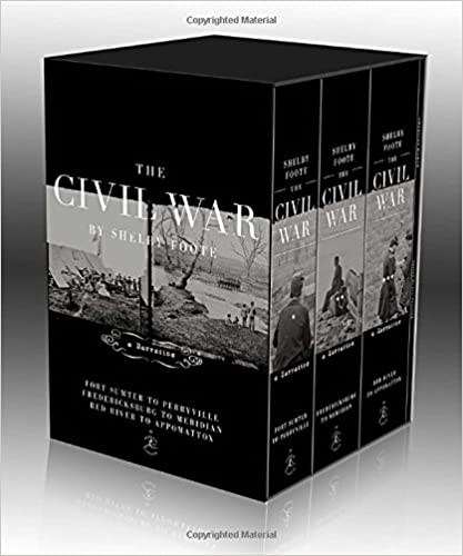 The Civil War Trilogy Box Set: With American Homer: Reflections on Shelby Foote and His Classic The Civil War: A Narrative (Modern Library)