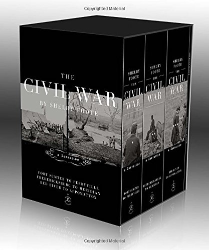 Book cover from The Civil War Trilogy Box Set: With American Homer: Reflections on Shelby Foote and His Classic The Civil War: A Narrative (Modern Library) by Shelby Foote