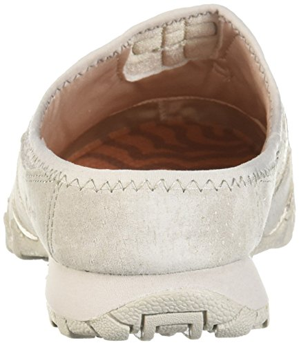 Skechers Mujeres Bikers-fan Club-sporty Slip-on Mesh-bungee Relaxed Fit Mule Natural