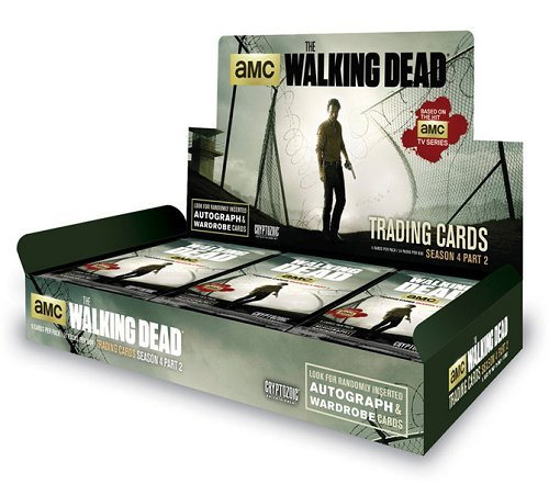 Season Box Trading Cards 4 - Walking Dead Season 4 Part 2 Trading Cards Hobby Box Cryptozoic