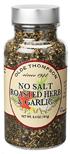 Olde Thompson No Salt Roasted Herb & Garlic, 6.4 Ounce