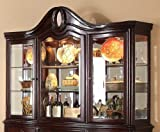 Agatha Collection Hutch in Rich Cherry Homelegance