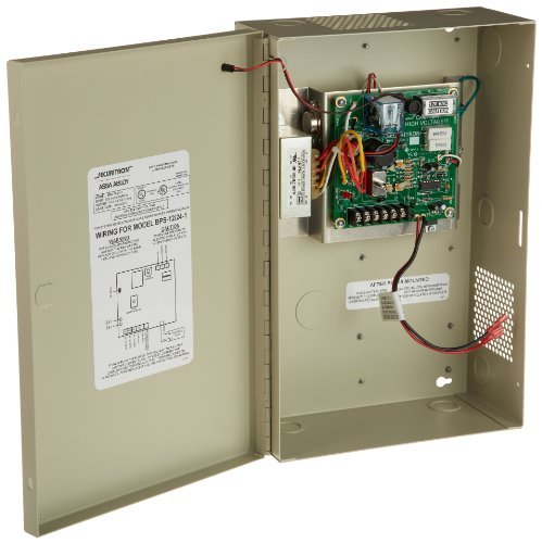 Securitron BPS-12/24-1 Power Supply 12/24Vdc @ 1 Amp, Satin Chrome by Securitron by Securitron