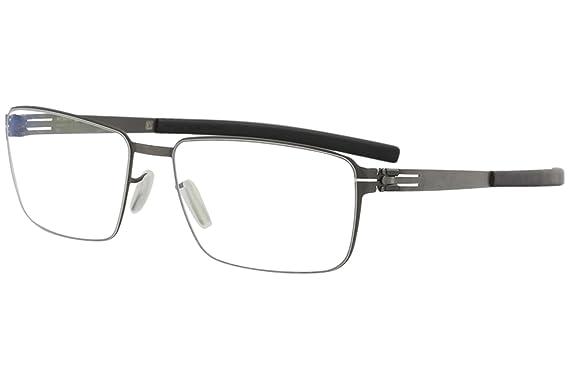 0cef1ac858f Amazon.com  ic! Berlin Dr. Kauermann Eyeglasses Graphite Black RX ...