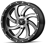 MSA M36 Switch 18x7 ATV/UTV Wheel - Machined (4/156) +0mm [M36-018756]