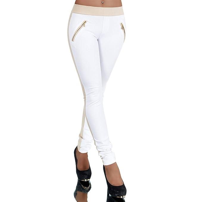 G701 Damen Jeans Look Hose Röhre Leggings Leggins Treggings Skinny Jeggings