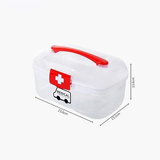 TZSMYX Botiquín Caja de Medicina Grande para el hogar Caja de ...