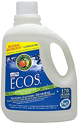 Earth Friendly Products Lemongrass, 170 Fluid Ounce