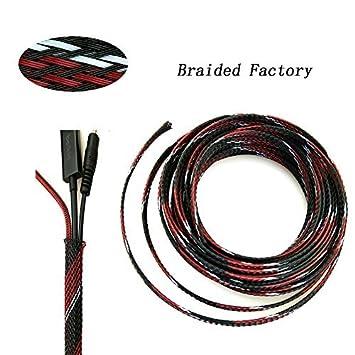 Fundas de cable, trenzado de fábrica extensible trenzado ...