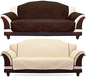 Amazon Reversible Sofa Cover with Elastic Strap