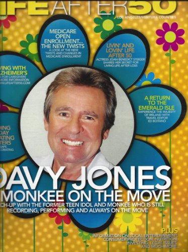 - Davy Jones Life After 50 Magazine November 2011 Monkees