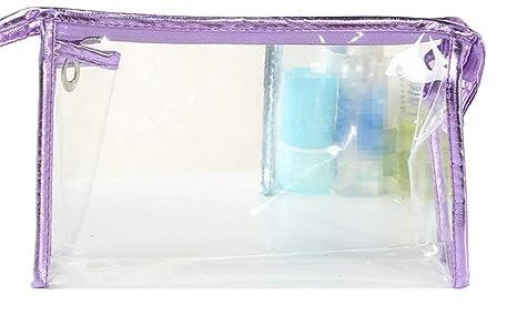 Mackur Bolsas de Maquillaje Bolsa de Plástico Transparente ...